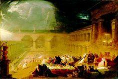 Belshazzar's Feast Martin - Uczta Baltazara – Wikipedia, wolna encyklopedia