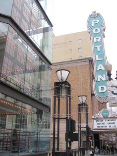 Downtown Portland by Michael Barton