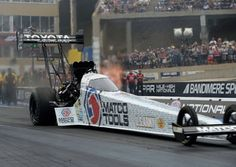 Don Schumacher Racing, a funny car powerhouse in 2017, displays command of Top Fuel at Bandimere
