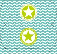 FREE printable Happy Birthday (joyeux anniversaire box) – Lady Bidouille: Kit anniversaire imprimable