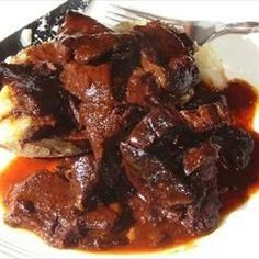 Billy's Bar-b-que (Crockpot Venison) on BigOven: This is an excellent way to serve up any form of venison or other meat.