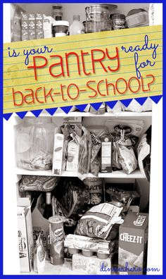 Get Your Pantry Ready for Back-to-School dinnerhero.com