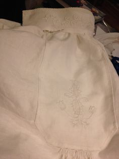 Working on a Sunnmore blouse