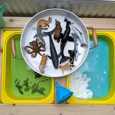 10 Activities to try with the Flisat Table – Teach Investigate Play Sensory Table, Sensory Bins, Sensory Play, Sorting Activities, Toddler Activities, Play Activity, Toddler Games, Activity Bags, Autism Activities