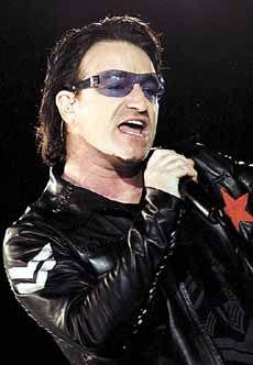 Bono~ A passionate voice !