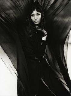 Liu Wen by Txema Yeste. ANTIDOTE #4F/W 2012/2013
