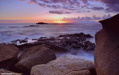Foto de Francisco González. La Caleta #Tenerife #sunset