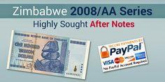Buy Zimbabwe Trillion Notes: 100 Trillion Zimbabwe Dollar Banknote Uncirculated...