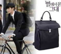 Kdrama My Love From the Star (You Who Came From the Stars): Kim Soo Hyun Backpack