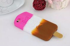 Co Co Crazy Popsicle Rubber Phone Case