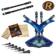 LIMITED EDITION - Batman Arkham City Nightwing Arsenal Full-Scale Light-Up Prop Replica