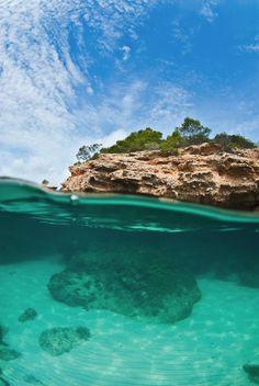 Platja de l'Estany Podrit. L'Ametlla de Mar  Tarragona Catalonia