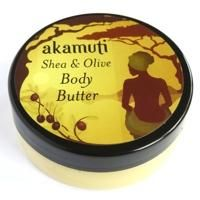 Simply shea butter and organic olive oil blended together...creamy, buttery skin food to soften the dryest skin :)