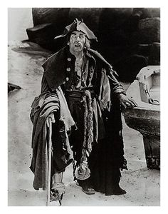 """""""Treasure Island"""" 1920. As Blind Pew (Dual Role). See more at: https://www.facebook.com/LonChaneySrManOf1000Faces"""