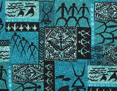 Tapa Warrior Barkcloth Polynesian Hawaiian Fabric. Check it out at HawaiianFabricNBYond.Etsy.com  Aloha :)
