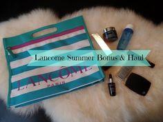 Lancome Summer Bonus Bag & Haul