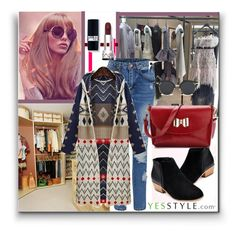 """YESSSTYLE.com 2 (Ships in 24 hours)"" by zenabezimena ❤ liked on Polyvore featuring Pixie Pair and BeiBaoBao"