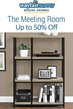 At Wayfair Supply, they are offering The Meeting Room Items: Get up to 50% disount. Order now, offer is ending soon. For more Wayfair Supply Coupon Codes visit: http://www.couponcutcode.com/stores/wayfair-supply/