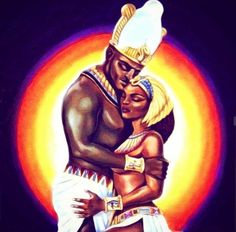 Black Love, Black Art, Love Twins, Twin Souls, King Queen, Iron Man, Chill, Wonder Woman, Statue