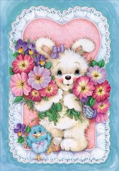 ❤️Sending love, hugs and flowers to you all❤ (from my sweet SIC Annie)