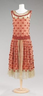 House of Lanvin (French, founded 1889)  Dress, Evening  spring/summer 1923