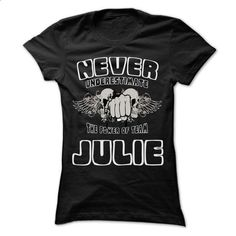 Never Underestimate The Power Of Team JULIE - 99 Cool T - #fashion tee #red hoodie. MORE INFO => https://www.sunfrog.com/LifeStyle/Never-Underestimate-The-Power-Of-Team-JULIE--99-Cool-Team-Shirt-.html?68278