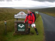 Hurrah, Yorkshire Dales!  The last stretch!