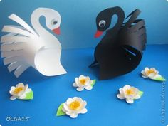 Paper Animal Crafts are fabulous activity for kids, especially if you& making them with a group of children for kids party or community event. Paper Animal Crafts, Paper Animals, Bird Crafts, Easter Crafts, Hobbies And Crafts, Diy And Crafts, Crafts For Kids, Arts And Crafts, Paper Swan