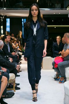 A look from the Sonia Rykiel Spring 2015 RTW collection.