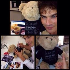 Adorable Ian Somerhalder
