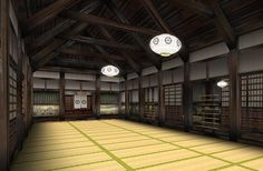 dojo can be found on Japan Chubu, within castle grounds Japanese Castle, Japanese House, Hombu Dojo, Japanese Dojo, Karate Dojo, Japanese Lifestyle, Artist Loft, Japanese Interior, Home Upgrades