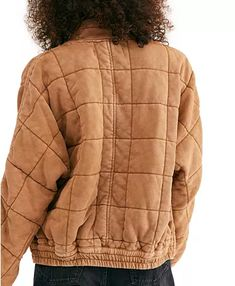 Free People Dolman Quilted Jacket & Reviews - Jackets & Blazers - Women - Macy's Barre Clothes, You Look Pretty, Blazer Jackets For Women, Quilted Jacket, Jacket Style, Workout Gear, Free People, Nordstrom, Winter Jackets