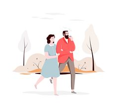 Characters illustrations on Behance