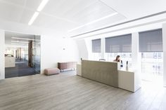 The Interiors Group has recently developed a new office space for WME Entertainment in London. The Interiors Group have delivered and fitted out just over Reception Counter, Office Reception, Breakout Area, Waiting Area, Workplace Design, News Space, Entertaining, London, Interior Design