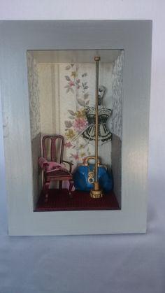 Mini quadrinho Polidance que criei para o dia dos Namorados R$ 70,00 - Sueli Pessoa - PLick Ateliê - VENDIDO!!!