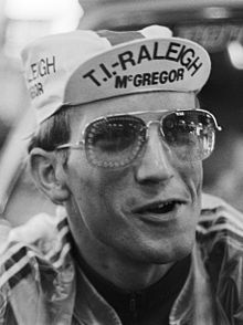 Jan Raas 1978 racing for T.I. Raleigh