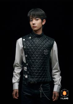 Lee Young, My Land, Landing, Leather Jacket, Boys, Jackets, Kpop, Handsome, Number