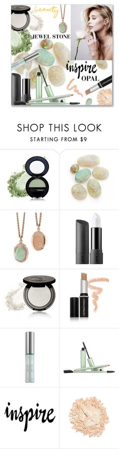 """Inspire by Opal"" by einn-enna ❤ liked on Polyvore featuring beauty, Dr.Hauschka, Bite, 3 Custom Color, Vichy, Urban Decay, Mally, Opal, beautyset and jewelstone"