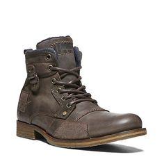 GESSIEE DARK BROWN men's boot casual oxford - Steve Madden
