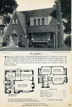 1928 Home Builders Catalog - The Dawn | Flickr - Photo Sharing!