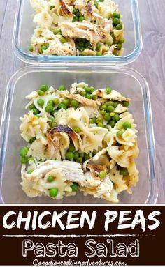 Looking for a quick and tasty lunch or dinner option? Then this Chicken Pea Pasta Salad is sure to do the trick. Made with bowtie pasta, peas and shreeded chicken! #Chicken #Pea #Peas #Pasta #Salad #Dressing #Mealprep #Recipe Chicken Peas Pasta, Chicken Peas Recipe, Chicken Pasta Recipes, Easy Pasta Recipes, Budget Recipes, Best Low Carb Recipes, Whole 30 Recipes, Favorite Recipes, Cooking On The Grill