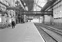 Nottingham Victoria Station in 1950's