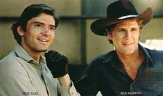 Alias Smith and Jones. A couple of tasty guys meant I never missed this cowboy show.