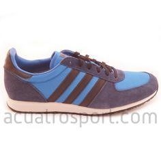 detailed look 9c939 12088 Zapatillas retro running Adidas modelo adistar racer en tonos azules para  hombre.  adistar  adidas  originals