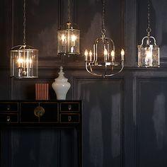 Buy John Lewis Warwick Ceiling Light, Nickel, 5 Arm Online at johnlewis.com