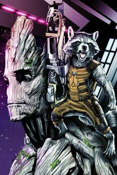 Marvel Rocket Raccoon
