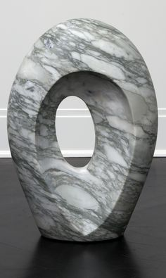 KELLY WEARSTLER | MARBLE ARCH LARGE. Solid hand-carved Big Flower marble sculpture