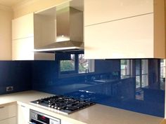 Toughened glass splashbacks perfect for kitchens