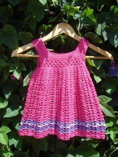 estos vestidos tejidos a crochet son ideales para dar colorido en ...