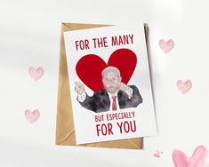 Jeremy Corbyn Valentine's Card | For the Many | Funny Couple's Cards for him and her | Anniversary #ForTheMany #CelebrityCard #GreetingCard #GreetingCards #JeremyBrexit #FunnyChristmasCard #LabourPartyCard #JeremyCorbynCard #HumorCards #JeremyCorbyn Christmas Wrapper, Christmas Gift Wrapping, Gift Wrapping Paper, Beautiful Christmas Cards, Funny Christmas Cards, Christmas Humor, Funny Valentine, Valentines, Anniversary Greeting Cards